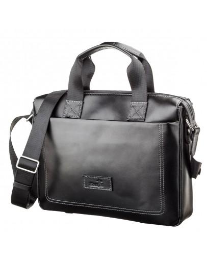 Фотография Кожаная сумка мужская для документов SHVIGEL 11107