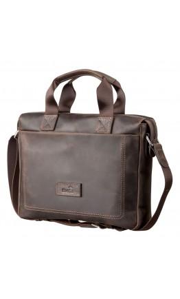 Коричневая мужская сумка для документов SHVIGEL 11108