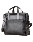 Фотография Кожаная сумка для небольшого ноутбука SHVIGEL 11110