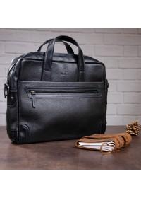 Кожаная сумка для небольшого ноутбука SHVIGEL 11110