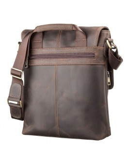 Большая сумка мужская кожаная на плечо SHVIGEL 11113