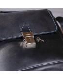 Фотография Деловая черная мужская кожаная сумка SHVIGEL 11118