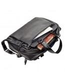 Фотография Мужская кожаная вместительная сумка для ноутбука и документов Shvigel 11123