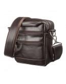 Фотография Маленькая мужская коричневая сумка SHVIGEL 11125