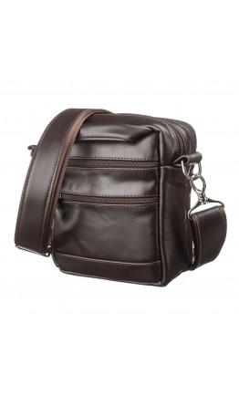 Маленькая мужская коричневая сумка SHVIGEL 11125