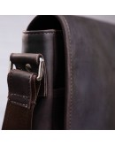 Фотография Коричневая винтажная сумка формата A4 SHVIGEL 11129