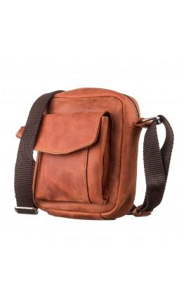 Небольшая мужская кожаная сумка SHVIGEL 11132