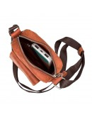 Фотография Небольшая мужская кожаная сумка SHVIGEL 11132