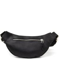Поясная кожаная мужская сумка Grande Pelle 11144