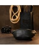 Фотография Поясная кожаная мужская сумка Grande Pelle 11144