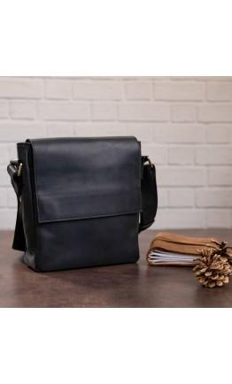 Мужская сумка через плечо черная SHVIGEL 11171