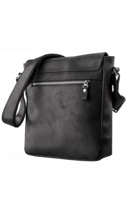 Черная сумка мужская через плечо SHVIGEL 11172
