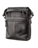 Фотография Мужская черная кожаная сумка SHVIGEL 11173