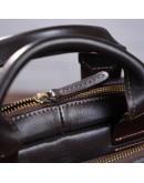 Фотография Кожаная коричневая вертикальная сумка барсетка SHVIGEL 11183