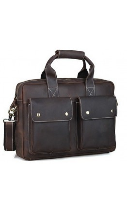 Удобный повседневный мужской портфель 71123t