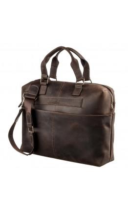 Мужская коричневая винтажная сумка SHVIGEL 11250