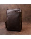 Фотография Мужская сумка-планшет в винтажной матовой коже SHVIGEL 11280