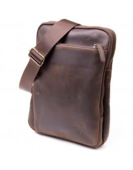 Мужская сумка-планшет в винтажной матовой коже SHVIGEL 11280
