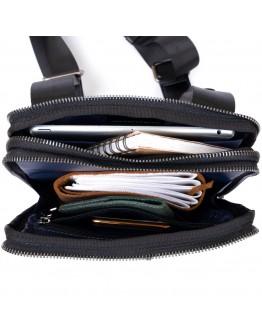Мужская сумка планшетка кожаная SHVIGEL 11283