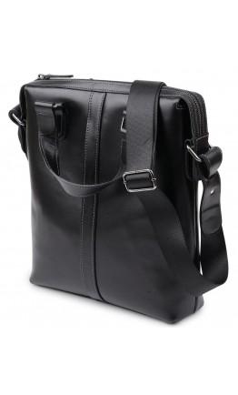 Кожаная мужская сумка формата А4 Shvigel 11287
