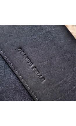 Кожаная мужская барсетка - большой клатч GRANDE PELLE 11146