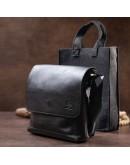 Фотография Мужская сумка мессенджер из натуральной гладкой кожи GRANDE PELLE 11333