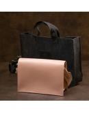 Фотография Розовая женская кожаная сумка GRANDE PELLE 11435