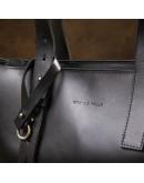 Фотография Кожаная женская сумка - шоппер GRANDE PELLE 11436