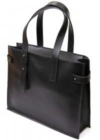 Кожаная женская сумка - шоппер GRANDE PELLE 11436