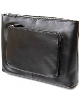 Кожаная сумка на плечо для небольшого ноутбука и документов GRANDE PELLE 11437