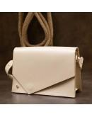 Фотография Бежевая женская кожаная сумочка GRANDE PELLE 11568