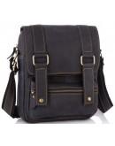 Фотография Кожаная мужская сумка на плечо на каждый день t1172A