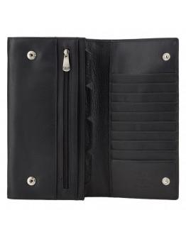 Черное дорожное портмоне Visconti 1179 Polo (Black)