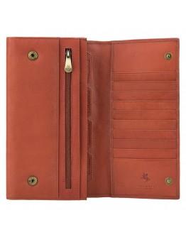 Коричневое портмоне в дорогу Visconti 1179 Polo (Brown)