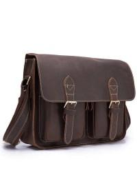Удобная сумка на плечо из плотной кожи Bx1206