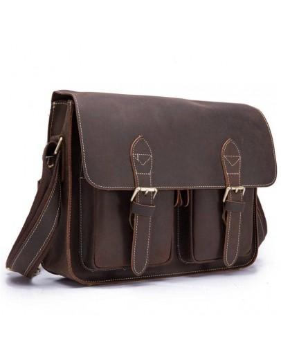 Фотография Удобная сумка на плечо из плотной кожи Bx1206