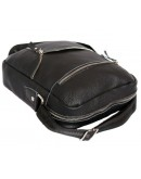 Фотография Вместительная и прочная черная сумка на плечо 7121