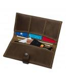 Фотография Мужское кожаное винтажное портмоне Shvigel 12285