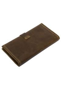 Мужское кожаное винтажное портмоне Shvigel 12285
