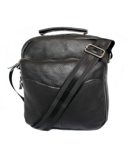 Фотография Прочная кожаная мужская сумка на плечо 7124
