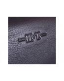 Фотография Кожаная сумка для небольшого ноутбука 1373-1 BLACK