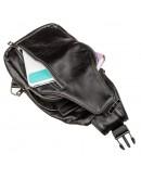 Фотография Мужской кожаный слинг небольшого размера SHVIGEL 13903