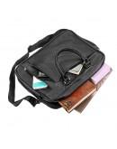 Фотография Мужская сумка деловая черная SHVIGEL 13934