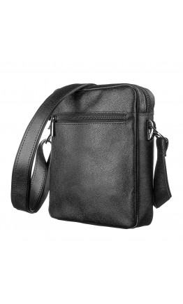 Черная сумка мужская на плечо SHVIGEL 13936