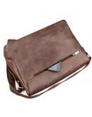Фотография Кожаная сумка горизонтальная формата А4 SHVIGEL 13940