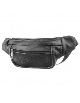Мужская кожаная напоясная сумка SHVIGEL 13942