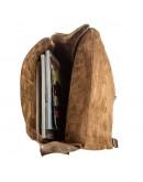 Фотография Оригинальный винтажный мужской кожаный рюкзак SHVIGEL 13947
