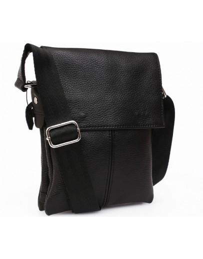 Фотография Качественная мужская сумка на плечо 7140 черная