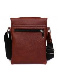Кожаная мужская сумка на плечо отличного качества 7140r