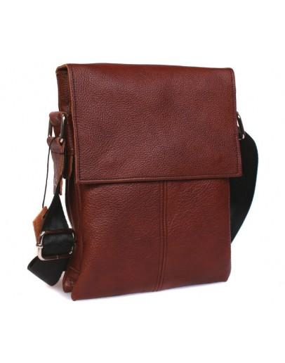 Фотография Кожаная мужская сумка на плечо отличного качества 7140r